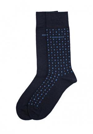 Комплект носков 2 пары Boss Hugo. Цвет: синий