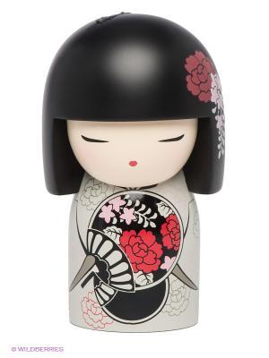 Кукла-талисман Михо Kimmidoll. Цвет: черный, бордовый, кремовый