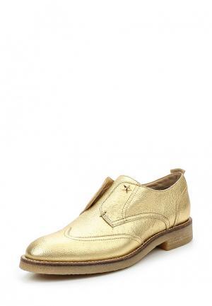 Ботинки Tommy Hilfiger. Цвет: золотой