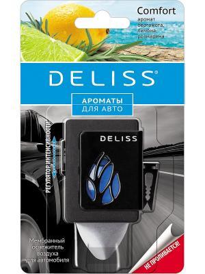 Мембранный освежитель воздуха для автомобиля Deliss. Цвет: синий