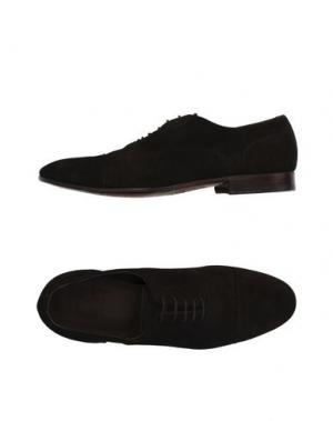 Обувь на шнурках GREEN GEORGE. Цвет: темно-коричневый