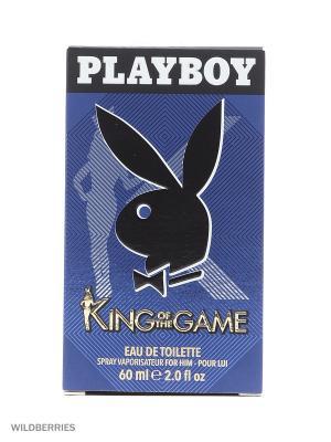 Playboy KING М Товар Pby туалетная вода муж 60 мл. Цвет: прозрачный