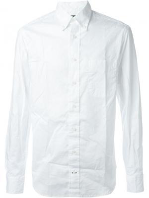 Рубашка Zephyr Gitman Vintage. Цвет: белый