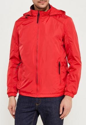 Куртка утепленная Zasport. Цвет: красный
