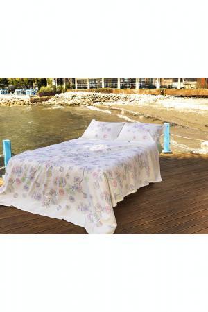 Комплект постельного белья Marie claire. Цвет: бежевый