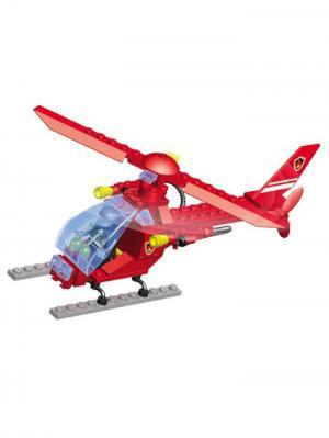 Конструктор SuperBlock Авиация Вертолет M Склад Уникальных Товаров. Цвет: красный