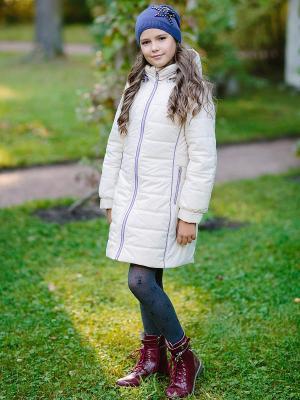 Пальто Полина DUWALI. Цвет: молочный