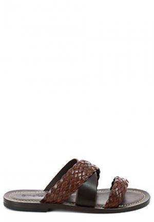 Сабо SMALTO. Цвет: коричневый