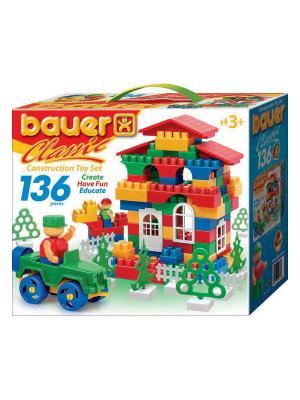 Конструктор Bauer серии Сlassic 136 эл. (в коробке) 24/24. Цвет: голубой