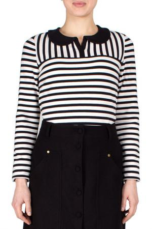 Блуза FEVER LONDON. Цвет: черный