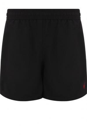 Плавки-шорты с карманами Ralph Lauren. Цвет: черный