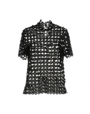 Блузка BEAU SOUCI. Цвет: черный
