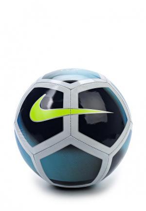Мяч футбольный Nike. Цвет: голубой