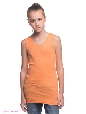 Топ NAME IT. Цвет: оранжевый