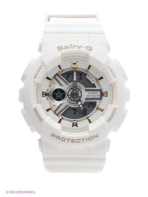 Часы Baby-G BA-110GA-7A1 CASIO. Цвет: белый