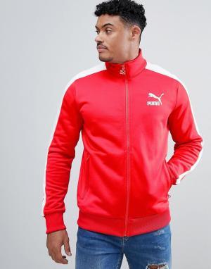 Puma Красная спортивная куртка Archive T7 57265882. Цвет: красный