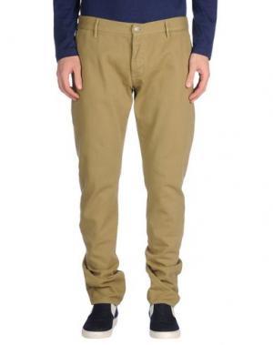 Джинсовые брюки ARMANI JEANS. Цвет: песочный