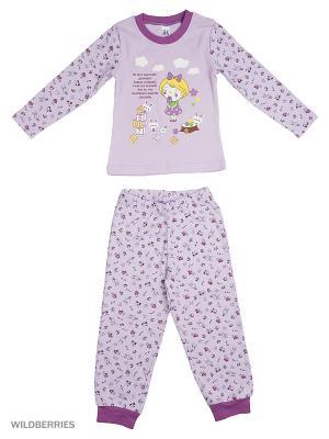 Пижама K&R BABY. Цвет: лиловый