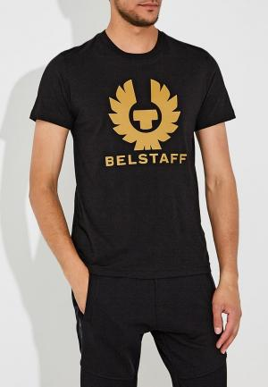 Футболка Belstaff. Цвет: черный