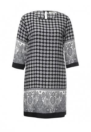 Платье Pinkline. Цвет: черно-белый