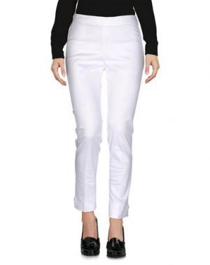 Повседневные брюки NADIA C.. Цвет: белый