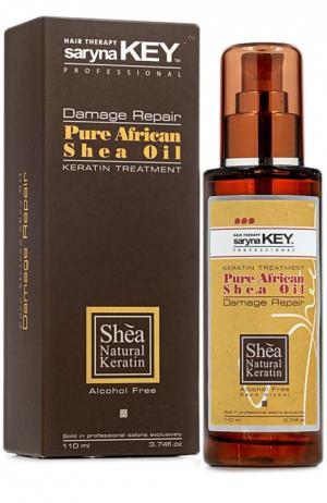 Натуральное Африканское масло Ши Damaged Repair Saryna Key. Цвет: бесцветный