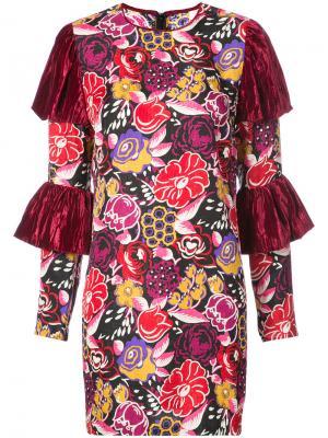 Платье To  One I Love Best Anna Sui. Цвет: красный