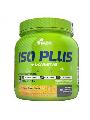 Витаминно-минеральный комплекс OLIMP Iso Plus Powder 700 г  (лимон) Nutrition. Цвет: зеленый