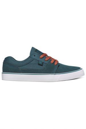 Лоферы DC Shoes. Цвет: зеленый