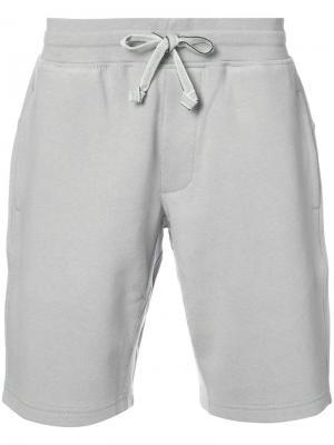 Шорты с поясом на шнурке Adidas X Wings + Horns. Цвет: серый