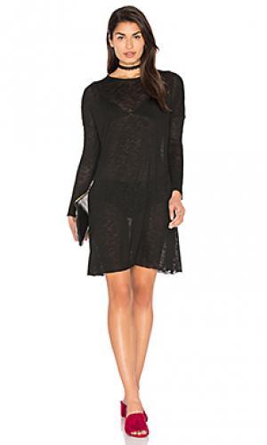 Платье cozistreet American Vintage. Цвет: черный