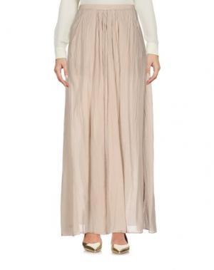 Длинная юбка EUROPEAN CULTURE. Цвет: песочный