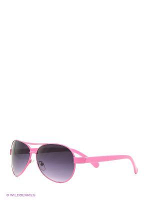 Солнцезащитные очки Vittorio Richi. Цвет: розовый, черный