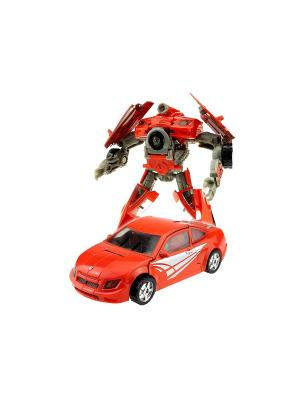 Робот, Трансформер Собирается в Спорткар L Склад Уникальных Товаров. Цвет: красный