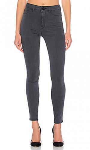 Ультра узкие джинсы высокой посадки no. 1 DL1961. Цвет: none