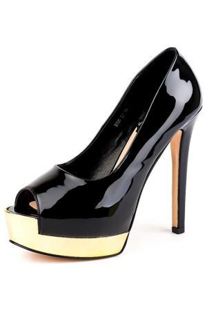 Туфли Norka. Цвет: черный