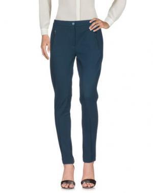 Повседневные брюки METRADAMO. Цвет: темно-зеленый