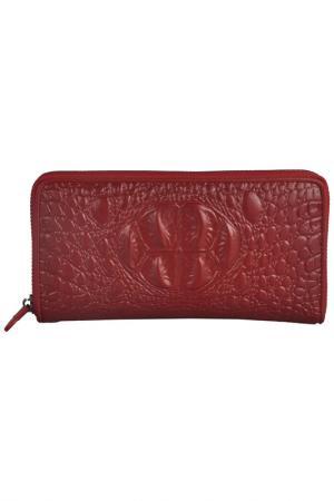 Бумажник MATILDA ITALY. Цвет: красный