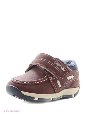 Ботинки Klin. Цвет: бордовый