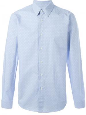 Рубашка с принтом Jil Sander. Цвет: синий