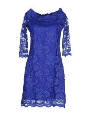 Короткое платье OLVI'S. Цвет: темно-фиолетовый