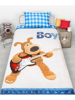 Комплект постельного белья 1,5с Boofle Boy н(1)50*70. Цвет: белый