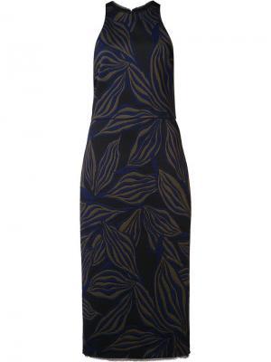 Короткое облегающее платье Jason Wu. Цвет: зелёный