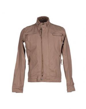 Куртка YES ZEE by ESSENZA. Цвет: светло-коричневый