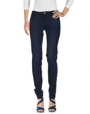 Джинсовые брюки REIKO. Цвет: темно-синий