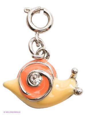 Подвеска Улитка CHI-CHI. Цвет: оранжевый, желтый