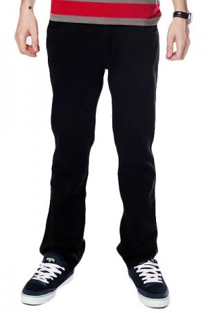 Штаны  Thomas Signature Sweatpants Black Fallen. Цвет: черный