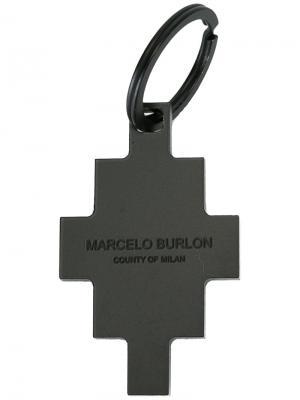 Cangrejo keyring Marcelo Burlon County Of Milan. Цвет: чёрный