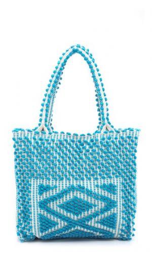 Квадратная объемная сумка с короткими ручками Liscia Antonello