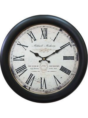 Часы настенные Михаилъ Москвинъ. Цвет: темно-зеленый